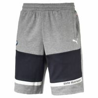PUMA BMW Motorsport Men's Sweat Shorts Men Knitted Shorts Auto New