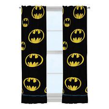 Batman After Dark Room Darkening child bedroom decor Window Home Curtain Panel