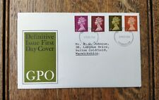 GB 1968 GPO DEFINITIVE ISSUE First Day Cover
