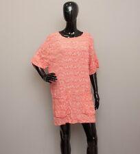 DAY BIRGER ET MIKKELSEN Orange/White Pattern Oversize Dress 38