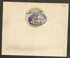 INDIA - INDORE (Holkar State) 8 ANNA (1938) Postal Stationery COMPLETO