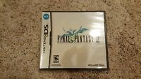 Final Fantasy III (Nintendo DS, 2006) *SEALED*