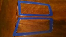 FOCUS RS MK2 STYLE ABS PLASTIC UNDER BONNET VENT TRIM PLATES PERFORMANCE BLUE