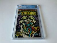 DOCTOR STRANGE 4 CGC 9.2 WHITE PAGES DEATH APP SKULL COVER MARVEL COMICS 1974