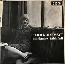 MARIANNE FAITHFULL - Come My Way (LP) (VG+/VG-) (1st Pressing. Mono)