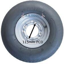 Jante de roue de remorque & 4.00-8 des pneus à 6 plis DAXARA 115mm PCD ERDE