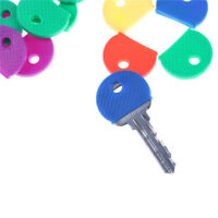 10pcs/20pcs Mixed Color Soft Key Top Cover Caps Case Keyring ID Marker Tags NT
