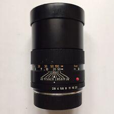 Leica Leitz Canada 135mm f/2.8 Elmarit-R Lens (3 Cam)