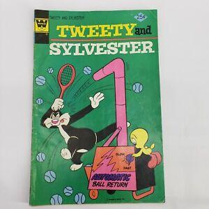 TWEETY AND SYLVESTER 1975 Series #51 WHITMAN Vintage Comic Book