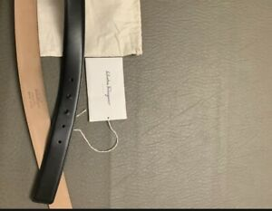 Salvatore Ferragamo Leather Belt Strap Only - Authentic - EUC/Wtags And Dustbag