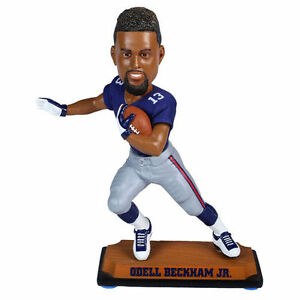Odell Beckham New York Giants Special Edition Bobblehead Real Clothing NEW