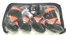 DOG BOOTS  Petilleur Breathable Dog Hiking Shoes Pet Paws Orange Small