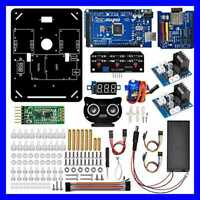 Robot Car Electronics Accessaries Kit For 4WD Omni Mecanum Wheel Robotic Chassis