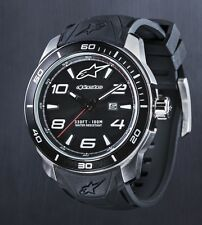 ALPINESTARS TECH WATCH 3H STAINLESS STEEL CASE AND SILICON STRAP MENS XMAS GIFT