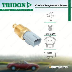Tridon Coolant Temperature Sensor for Ford Focus LT 2.0L DOHC 16V