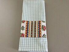 Kitchen Dish Tea Towel Blue Pierre Deux Avignonet Bordure French Country Toile