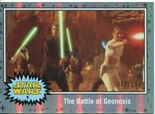 Star Wars JTTFA Ice Foil [###/150] Parallel Base Card #9 The Battle of Geonosis
