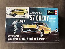 Vintage Revell 57 Chevy Plastic Model Kit #H-1284:198