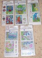 Hampton Art / Color Me / Clear Stamps NIP   NIP