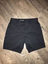 """Mens Ten Thousand The Foundation Short 7"""" Black Exercise Work Out Lined Shorts M"""