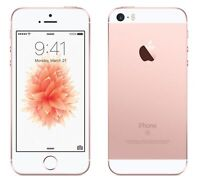 NEW ROSE GOLD VERIZON GSM/CDMA UNLOCKED 16GB APPLE IPHONE SE PHONE JS49 B