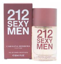 CAROLINA HERRERA 212 SEXY  MEN EAU DE TOILETTE EDT 30ML SPRAY - MEN'S FOR HIM