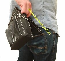 Gatorback Professional Electricians Butt Pouch w/ Tape Chain and 9 pockets.