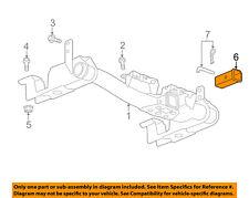 GM OEM Trailer Hitch-Rear Bumper-Draw Bar Adapter 15923277