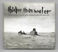 CD / THICKER THAN WATER - JACK JOHNSON AND THE MALLOYS / ALBUM DIGIPACK 2003