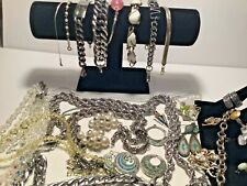Sterling silver mixed lot jewelry with,PORCELAIM   BIRD  NIGHT LIGHT  ANTIQUE