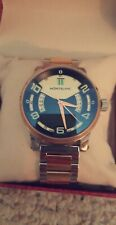 Montblanc Watch Replica E1688 - PJ121212  Swiss Made Rose Gold and Stainless