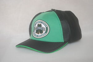 New Guinness Dublin Ireland Beer Aviator Trap Winter Hat Arctic Fitted 7 1/8