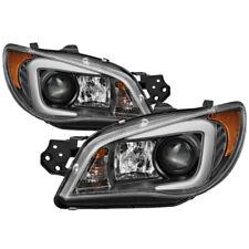 Spyder Light Bar DRL Projector Headlights for 2006-07 Subaru Impreza WRX 5083913