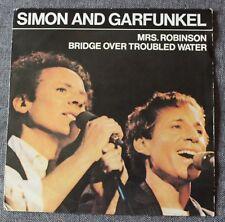 Simon and Garfunkel, Mrs Robinson / bridge over troubled water, SP - 45 tours