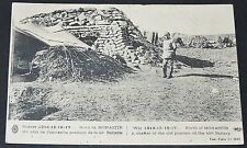 CPA GUERRE 14-18 CAMPAGNE SALONIQUE HELLAS NORD MONASTIR ABRI 42e BATTERIE