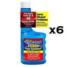 Star Tron 6 Pack 8 oz Enzyme Gas Treatment Harley Davidson FXR XL FXDWG FXD FLST