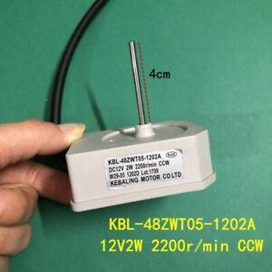 KBL-48ZWT05-1202A 12V Fan Motor Heat Sink 2200r/min For Omar TCL Refrigerator