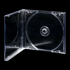 100 CD JEWEL CASES COMPLETE WITH CLEAR TRAYS / GRADE A - 10.4 mm SPINE - NEW
