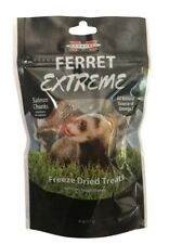 Marshall Ferret Extreme Salmon Chunks Freeze Dried Treats .6oz  Free Shipping