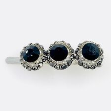 Magnet Hair Clip Hairpin  Rhinestone Crystal Barrette Elegant Jeweled Black 27