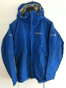 Mens Berghaus Extrem Jacket / Coat Medium / Large M/L Blue Gore-Tex Paclite