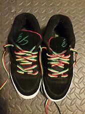 Vintage Skateboard Sneakers,Collectible Sneaker,éS Skateboard Shoe,Black Rasta