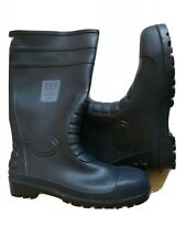 Portwest Safety Wellington Boots Waterproof Wellies Steel Toe Cap FW95 Size 13