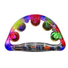 Light Up Large Tambourine