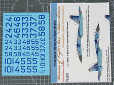 Foxbot Decals 32004 1/32 Su-27 Bort Numbers for Ukrainian Digital Camo Decal Set