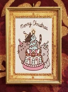 Pusheen Kitty Handmade Christmas Tree Ornament