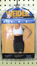 """Weider Neoprene Shorts XS Waists 20""""- 25"""" Compression  Reduce Weight NSBXSY 608"""