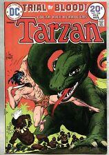 Tarzan #228-1974 vf/nm DC Comics Joe Kubert / Trial By Blood