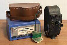 VINTAGE BELL & HOWELL FILMO SPORTSTER DOUBLE RUN EIGHT 8MM MOVIE CAMERA - WORK