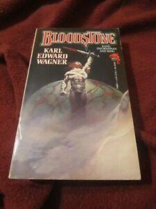 Bloodstone by Karl Edward Wagner (1991, pb) first Baen print Kane Frank Frazetta
